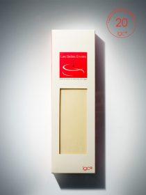 Tablette de chocolat blanc, produit des belles envies, IG bas.