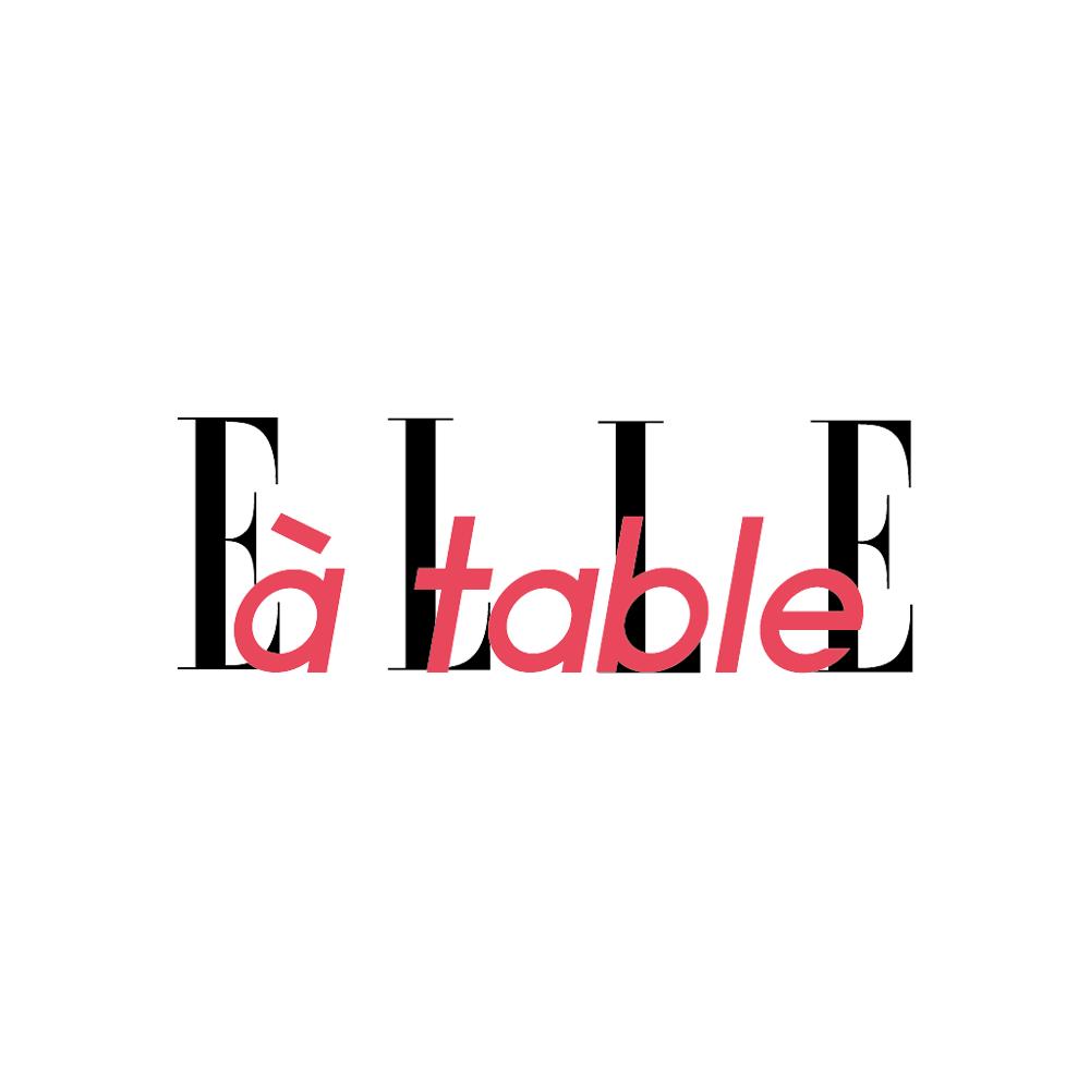 Logo elle à table.