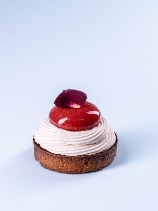 La tartelette Rose Pamplemousse, Les Belles Envies, Pâtisseries et Chocolateries